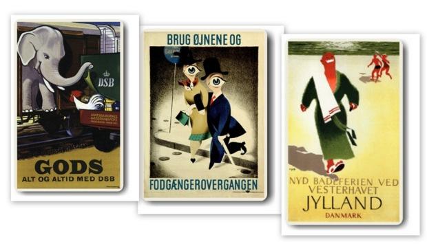 Danske plakat klassikere