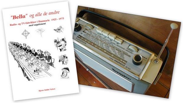 Bog om gamle danske radioer collM