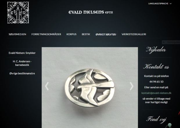 Evald Nielsen smykke NY