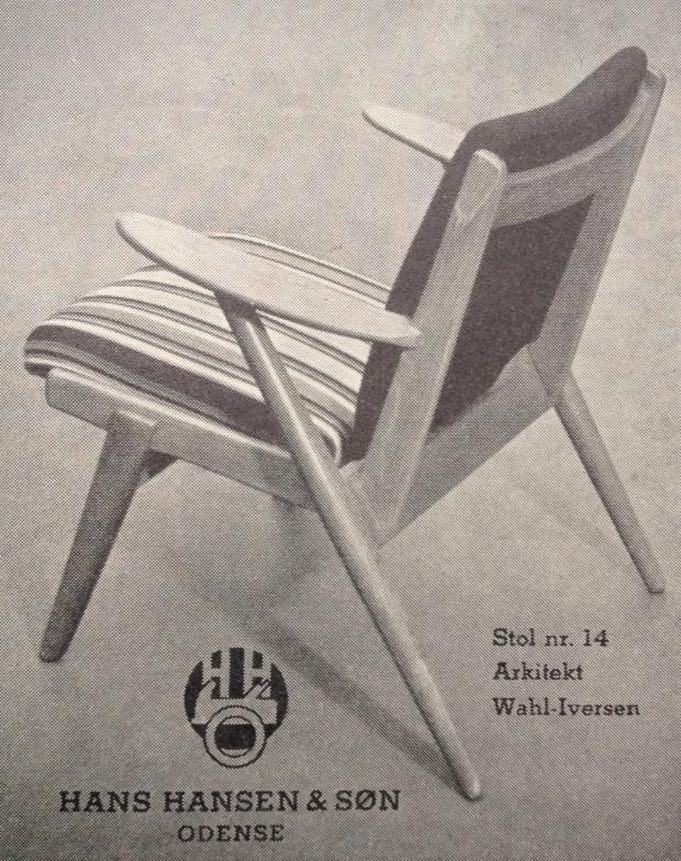 Hans Hansen 1955 stol
