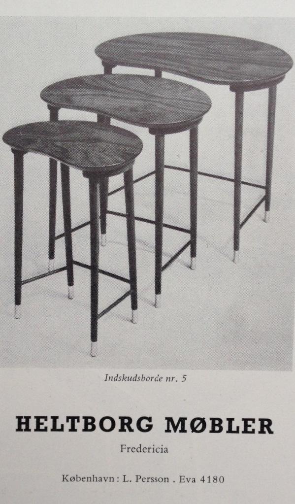 Heltborg Møbler 1955