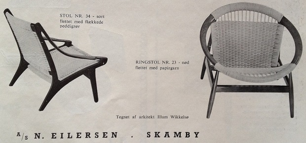 Eilersen lænestole MOB58