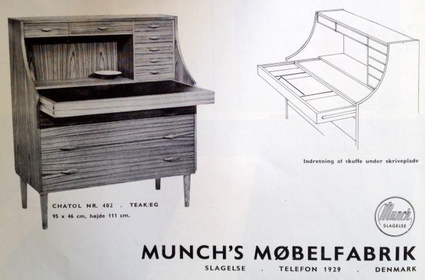 Munchs sekretær MOB58
