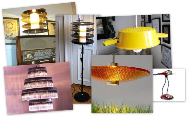 Upcycling lamper collage B