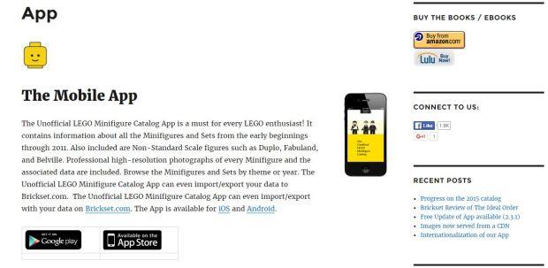 Minifigures app