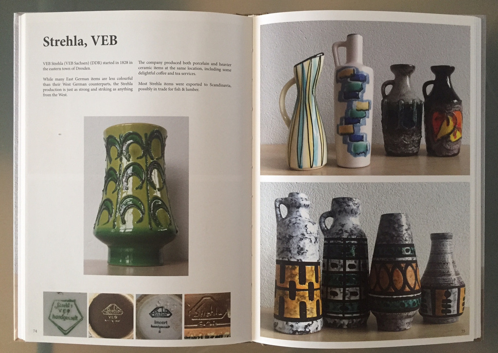 tysk keramik Tysk keramik efter 1960. | Loppefund Research tysk keramik